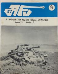 "Vol. 5, #2 ""Sherman VC Firefly Tank Stowage, M-151 Jeep, M-20 Armored Utility Vehicle"""