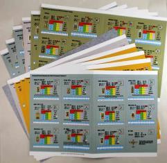 Advanced Tobruk AFV Cards Collection - 11 Sheets of Cards!
