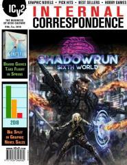 "#96 ""Board Games Take Flight, Big Split in Graphic Novel Sales, Shadowrun Sixth World"""