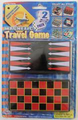 2 Pack - Checkers/Backgammon