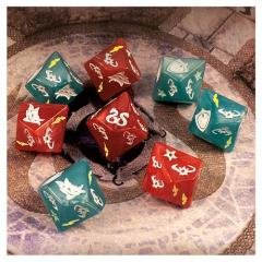 Custom Dice Set (8) (Kickstarter Exclusive)