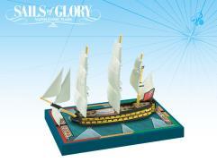 British - HMS Agamemnon 1781