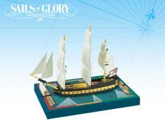 British - HMS Africa 1781