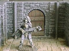 6cm Dungeon Wall Door Section
