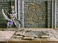 6cm Dungeon Wall w/Badly Bricked Repairs