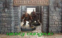 9cm Dungeon Corridor Entry w/Lintels