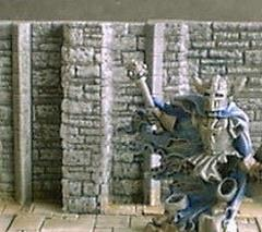 3cm Dungeon Wall w/Buttress