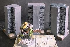 3cm Dungeon Wall T-Section