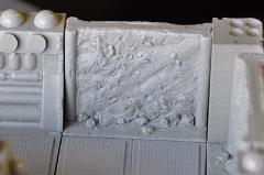 6cm Rough Hewn Wall