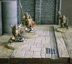 6x6cm Dungeon Floor w/Drainage Channel