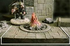 6x6cm Dungeon Floor Fire Pit