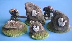 White Hand Stones