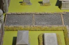 Long Cemetery Cinder Path