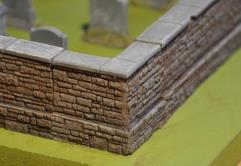 3cm Cemetery Corner Wall