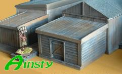 Larger Wooden Outhouse Extension