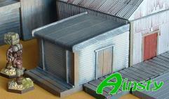 Corrugated Iron Outhouse