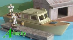 River Launch w/Cabin