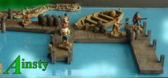 Wooden Jetty Catwalk Set