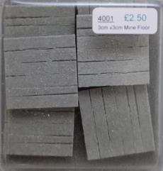 3x3cm Wooden Mine Duckboard Floor