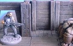 3cm Wooden Mine Wall
