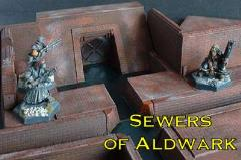 9x9cm Sewer Interceptory Wier