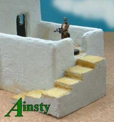 Adobe Staircase