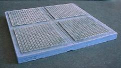 6x6cm 'A' Pattern Floor Tiles