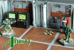 6x6cm 'D' Pattern Floor w/Small Power Hatch