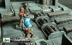 3x3cm Pipework Floor Section