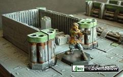 3x3cm Pipework Corner Unit
