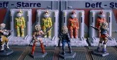 Spacesuits in Rack