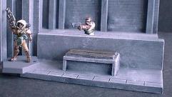 Low Wall w/Seat