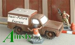 Small Box Van