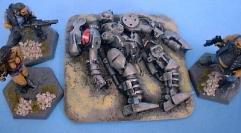 Wrecked Robot