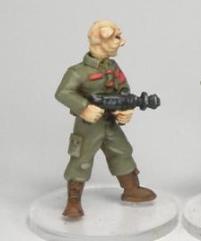 Armed Tech Alien w/Heads