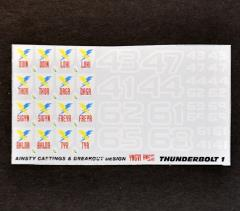 Thunderbolts Division 1 Decals