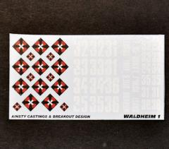 Waldheim Dragoons 1 Decals