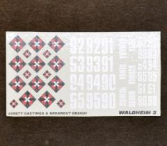 Waldheim Dragoons 2 Decals