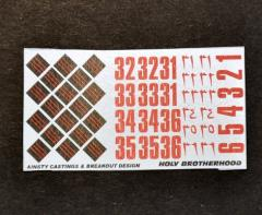 Flaming Sword of the Holy Brotherhood Decals