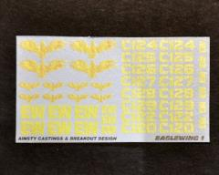Eagelwing Squadron 1 Decals