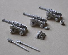 Cannons w/Loading Set