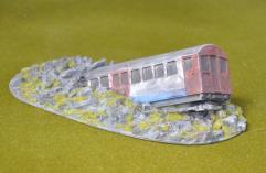 Crashed Tube Train