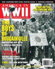 "Vol. 4, #4 ""Crawling Onto Bougainville, V-Mail - The GI's Lifeline"""