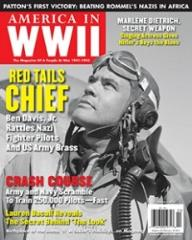 "Vol. 7, #5 ""Red Tails Chief, Patton's First Victory, Marlene Dietrich, Secret Weapon"""