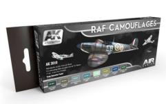 RAF Camouflages Colors Set