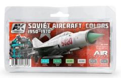 Soviet Aircraft Colors Set (1950-1970)