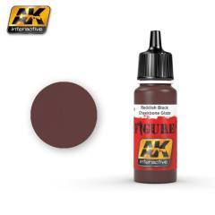 Reddish Black Cheekbone Glaze (Acrylic)