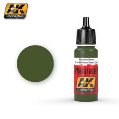 M-44 Midtone Green Dots (Acrylic)