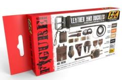 Leather and Buckles Colors Set