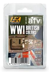 WWI British Colors Set
